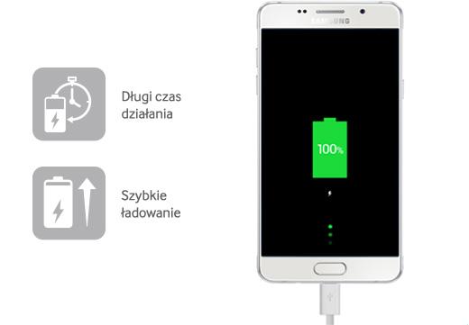 Ultrapojemna bateria | Znacznie dłuższy czas pracy