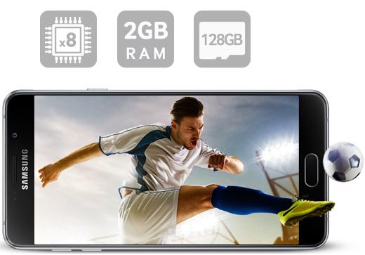 Ośmiordzeniowy procesor i 2GB RAM | Wydajny i wielozadaniowy