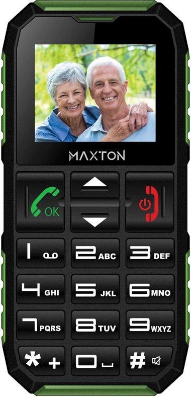 Telefon MAXCOM Maxton M60 Czarno-zielony