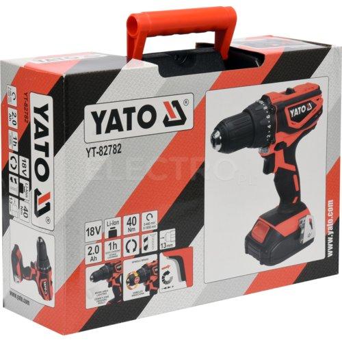 5ff10c60790570 Wiertarko-wkrętarka YATO YT-82782 cena, opinie, dane techniczne ...