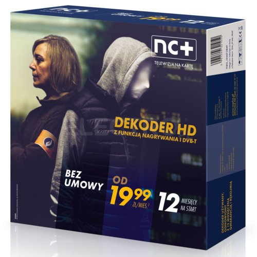 Telewizja Na Karte Nc.Dekoder Nc Iti 2850 Z Usługą Telewizja Na Kartę 12 M C Na Start Z Nc