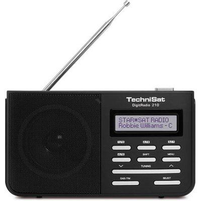 Radio TECHNISAT DigitRadio 210 Dab+FM Czarny Electro 788342