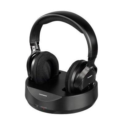 Słuchawki nauszne THOMSON WHP 3001 Czarny Electro 717331