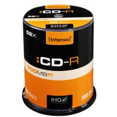 Płyta INTENSO CDR Cake 100 Electro e816565