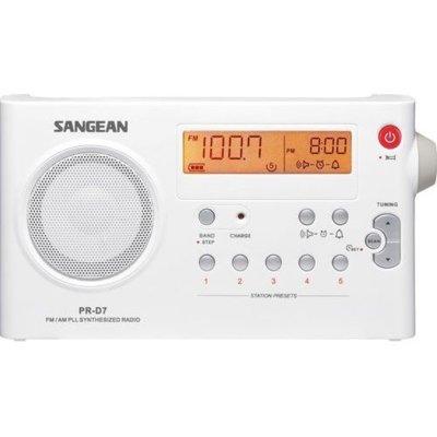 Radio SANGEAN PR-D 7 Biały Electro 840730