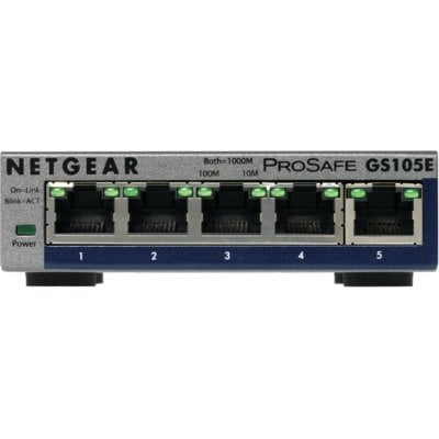 Switch NETGEAR GS105Ev2 Electro 318640