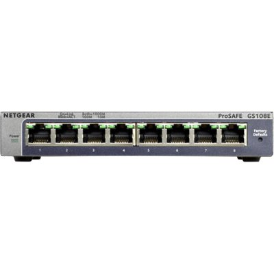 Switch NETGEAR GS108E Electro 289691