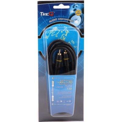 Kabel 1 x Cinch – 1 x Cinch TREQ  1.5 m Electro 207463