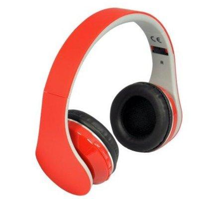 Słuchawki nauszne REBELTEC Pulsar Czerwony Electro 848068