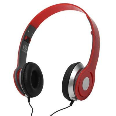 Słuchawki nauszne REBELTEC City Czerwony Electro 971908