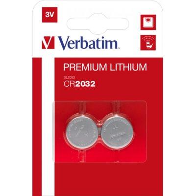 Baterie DL CR2032 VERBATIM (2 szt.) Electro 116394