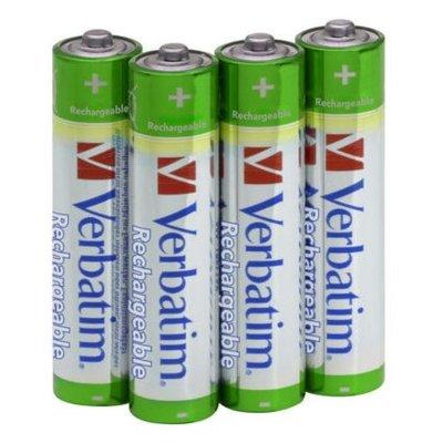 Akumulatorki AAA 1000 mAh VERBATIM (4 szt.) Electro e784190