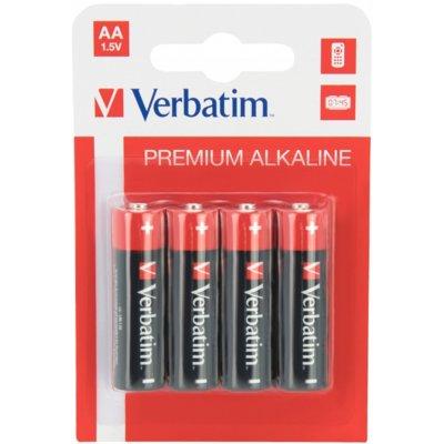 Baterie AA LR6 VERBATIM (4 szt.) Electro 112197