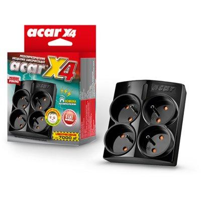 Listwa ACAR X4 Czarny Electro 180054