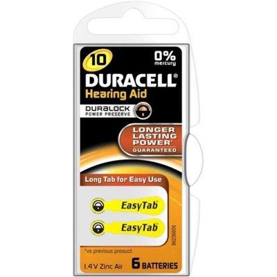 Baterie DA10 DURACELL Hearing Aid (6 szt.) Electro 550578