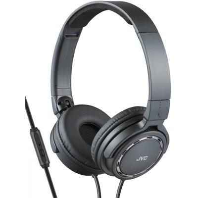 Słuchawki nauszne JVC HA-SR525-B-E z mikrofonem Czarny Electro 562874