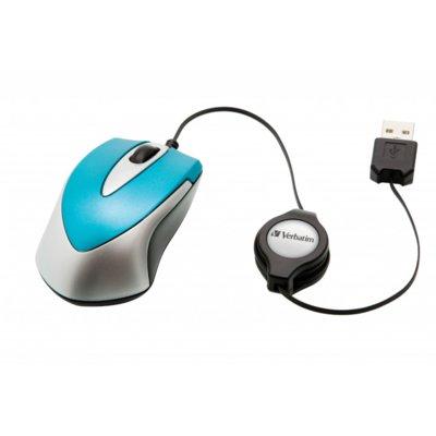 Mysz VERBATIM Travel Caribbean Blue Niebieski Electro e792492