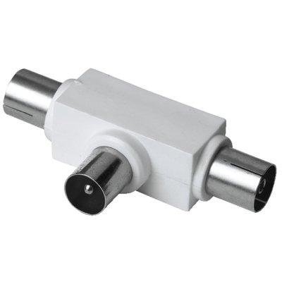 Adapter HAMA 1x Wtyk 2x Antenowy 99043159/122472 Electro 115006