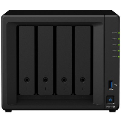 Serwer plików SYNOLOGY DS918+ Electro 550210