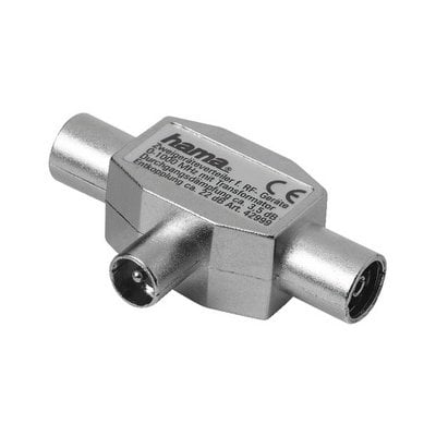 Adapter 2x Coax – Coax HAMA Electro 005447