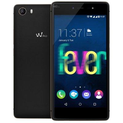 Smartfon WIKO Fever Czarno-złoty Electro 848153