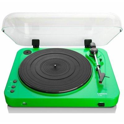 Gramofon LENCO L-85 Zielony Electro 841709