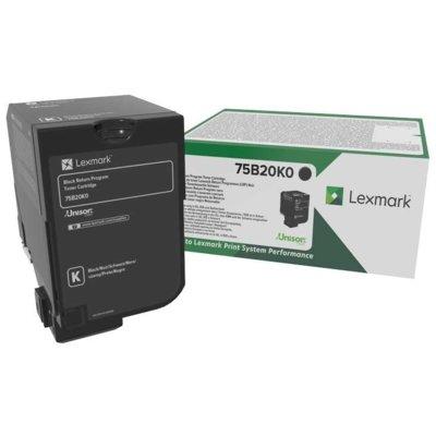 Toner LEXMARK 75B20K0 Czarny Electro e1033135