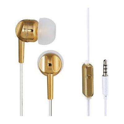 Słuchawki dokanałowe THOMSON EAR3005GD Złoty Electro 854625
