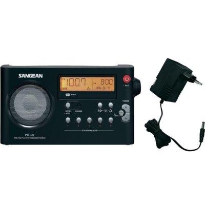 Radio SANGEAN PR-D 7 Czarny Electro 106212