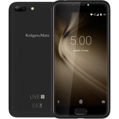 Smartfon KRUGER&MATZ Live 5 Czarny Electro 878252