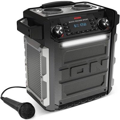 Power audio ION Block Rocker Sport Czarno-srebrny Electro 693516