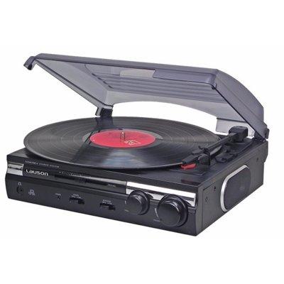 Gramofon LAUSON CL 145 Czarny Electro 876307