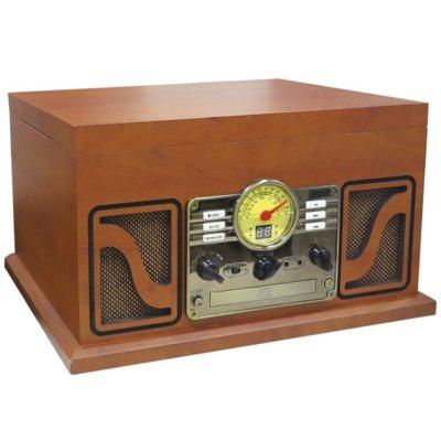 Gramofon LAUSON Retro CL 606 Brązowy + płyta Budka Suflera Electro 876311