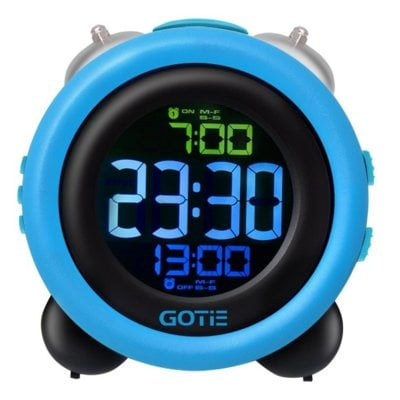 Budzik GOTIE GBE-300N Niebieski Electro 886318