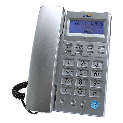 Telefon DARTEL LJ-301 Srebrny Electro 878086