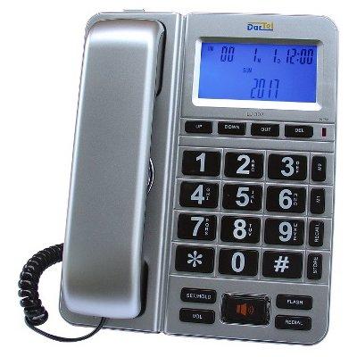 Telefon DARTEL LJ-302 Srebrny Electro 878089