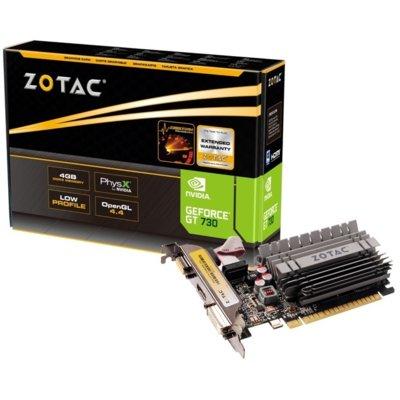 Karta graficzna ZOTAC GeForce GT 730 Zone Edition 4GB Electro 196420