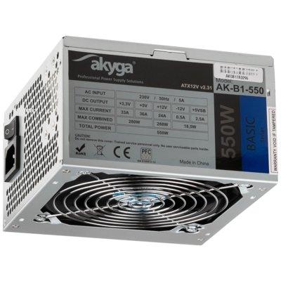 Zasilacz AKYGA AK-B1-550 550W Electro 102381
