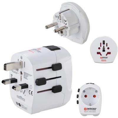 Adapter podróżny HAMA USA/EU/UK/Australia/Szwajcaria/Włochy Electro e1019897