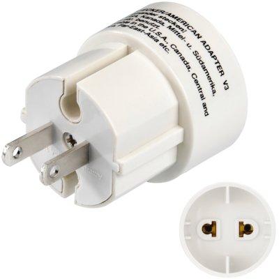 Adapter podróżny HAMA Wtyczka amerykańska Electro 483931