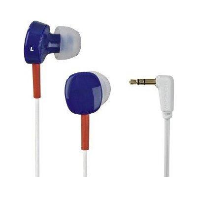 Słuchawki dokanałowe THOMSON EAR3056 Biało-granatowy Electro 499371