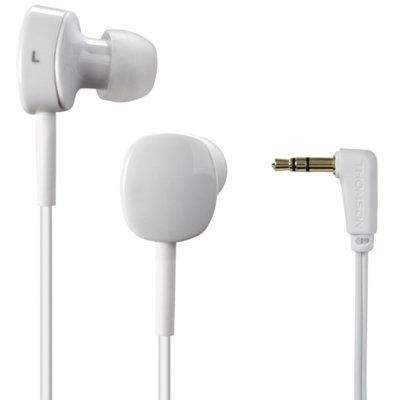 Słuchawki dokanałowe THOMSON EAR3056 Biały Electro 625851