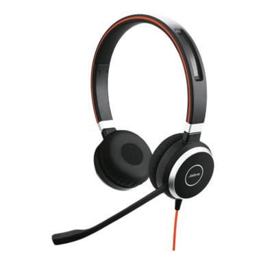 Słuchawki nauszne JABRA Evolve 40 UC Czarny Electro 885395