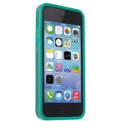 Etui MELICONI Bumper do Apple iPhone SE/5/5S Miętowy Electro 378016