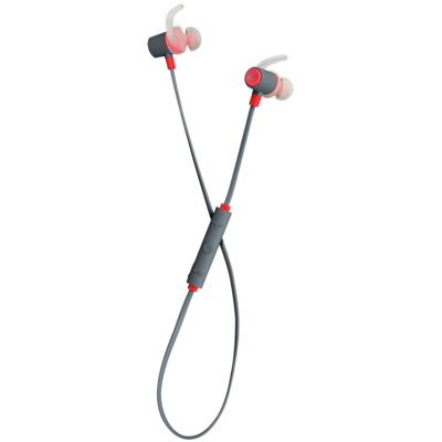 Słuchawki dokanałowe KITSOUND Outrun Czerwono-szary Electro 580001