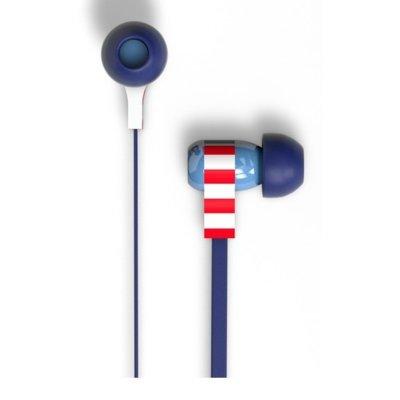 Słuchawki dokanałowe TRIBE EPW11601 Swing Captain America Niebieski Electro 261152
