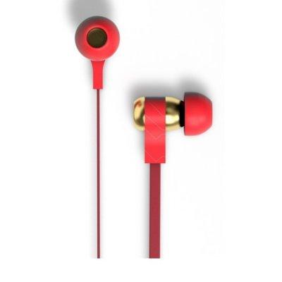 Słuchawki dokanałowe TRIBE EPW11604 Swing Iron Man Bordowo-złoty Electro 812792