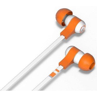 Słuchawki dokanałowe TRIBE Star Wars Swing BB-8 Pomarańczowo-biały Electro 397399