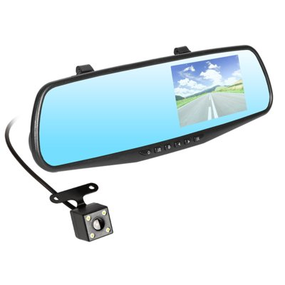 Wideorejestrator TRACER Mobi Mirror FHD + Kamera dodatkowa