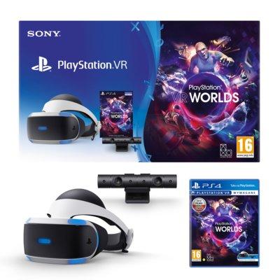 Gogle SONY PlayStation VR + Kamera + Gra VR Worlds Electro 876434